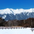 御嶽山 冠雪