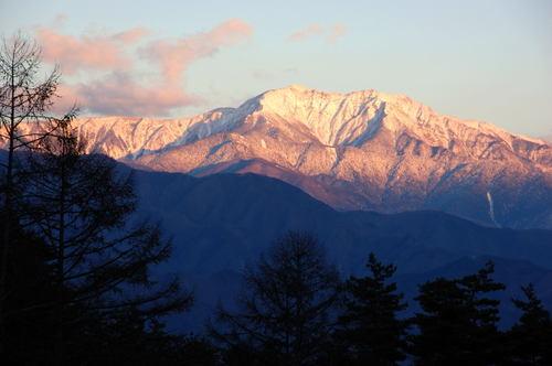 紅 仙丈ヶ岳